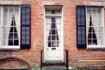 Door, Doorway, Entrance, Entry Way, Entryway, Brick, Savannah, COGV01P11_16