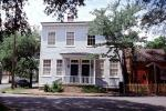 Building, Home, House, porch, Corner, Historic Savannah