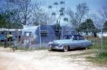 1950 Cadillac and Trailer, car, sedan, Georgia, 1950s