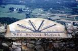See Seven States, The Marker at the Summit, Lookout Mountain