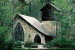 Chapel in the Woods, Unique Building, church, Pine Mountain, Georgia