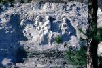 Stone Mountain, bar-Relief sculpture, Stonewall Jackson, Robert E. Lee, Jefferson Davis, Confederate States of America, losers, COGV02P09_07
