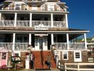 Hotel Macomber, Union Park, Cape May, building, stairs, porch