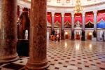 National Statuary Hall, Capitol Rotunda, statues, columns, CONV05P09_08