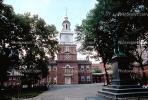 Independence Hall, Clock Tower, Historic Building, Philadelphia, American Revolution, Revolutionary War, War of Independence, History, Historical, COPV01P02_14.1738