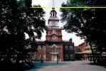 Independence Hall, Clock Tower, Historic Building, Philadelphia, American Revolution, Revolutionary War, War of Independence, History, Historical, COPV01P02_15