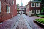 Landmark Buildings, Brick, walkway, sidewalk, Philadelphia, COPV01P05_12.1738