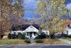 Home, house, single family dwelling unit, autumn, fall colors, trees, leaves, driveway, CORV01P01_12