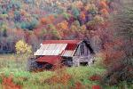 barn, Appalachia, near Fontana, autumn, CORV01P02_11