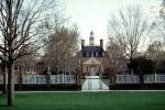 The Governor's Palace, Building, fence, path, walkway, landmark