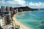Waikiki Beach, Diamond Head, CPHV01P02_15
