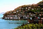 Homes, Apartments, Buildings, Harbor, Hills, Sausalito, CSBV03P01_15.1739