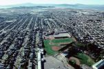 city of Richmond, homes, houses, residence, residential, urban texture, school, baseball park