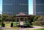 Lakeside Park Gazebo, Downtown Oakland, Gardens, Trees, CSBV06P02_10.1740