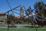 Tensegrity structure, Hoover Tower, Stanford University, Palo Alto, CSBV06P15_05