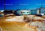 Salton Sea, Endorheic Lake, water encroachment, building, homes, houses, street, flooding, trailer, CSCV01P05_12.1740