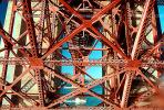 Lattice Work Golden Gate Bridge, Golden Gate Bridge, detail