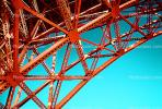 Golden Gate Bridge, Lattice Work, detail