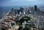 Coit Tower, Transamerica Pyramid, San Francisco Skyline, CSFV03P04_01
