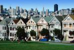 Victorians at Alamo Square, Painted Ladies, CSFV03P06_11B