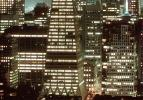 Transamerica Pyramid at Night, nighttime, evening, building, detail