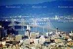 SOMA, Bay Bridge, East-Bay, from Twin Peaks