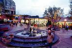 Fountain, Dusk, Ghirardelli Square