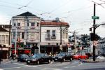 Castro-District, Market Street and Castro Street, Cars, automobile, vehicles