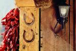 Horseshoes, Ristra, Hanging Chili Pepper Pods