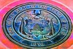 Great Seal of the State of Utah, Medallion, Four Corners Monument, Round, Circular, Circle
