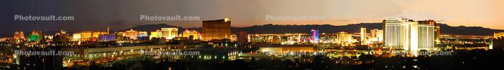 Panorama, Twilight, Dusk, Dawn, Night, Neon Lights, Exterior, Outdoors, Outside, Nighttime, Sunset, CSND01_053