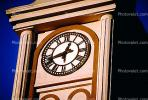 outdoor clock, outside, exterior, building, roman numerals, CSNV01P10_14.1744