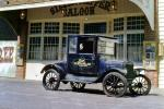 Frontier Village, Cars, vehicles, Automobile, 1920's Ford Model-T, Silver Slipper Saloon, CSNV02P13_04B