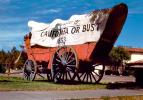 California or Bust, covered wagon, Conestoga, 1853, manifest destiny