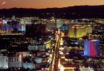 Nighttime, Night, Cityscape, Skyline, buildings, The Strip