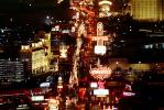 The Strip, Neon Signs, Cityscape, Skyline, buildings, Nighttime, Night, CSNV03P09_01