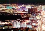 The Strip, Neon Signs, Cityscape, Skyline, buildings, Nighttime, Night, CSNV03P10_12