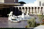 Water Fountain, aquatics, Horse, Hotel, Casino, building