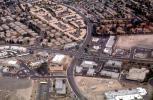 Urban Sprawl, Shopping Center, Intersection, Roads, streets, urban texture, homes, houses, buildings, sprawl, mall, suburbia, suburban, CSNV05P12_08
