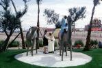 The Sahara Hotel, Golden Nugget, Camels Statues, Nomads, 1964, 1960's, CSNV06P02_10