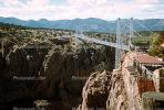 Royal Gorge Bridge, Arkansas River, October 1968, 1960s, CSOV01P04_01.1744