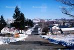 Home, House, snowy roads, street, ice, cold, mountains, Del Norte, CSOV01P07_04