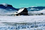 Home, House, fence, rural, snowy fields, ice, cold, mountains, Del Norte, CSOV01P07_09