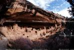 Cliff Palace, Dwellings, Cliff Dwellings, Cliff-hanging Architecture, CSOV01P09_17