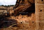 Cliff Palace, Dwellings, Cliff Dwellings, Cliff-hanging Architecture, CSOV01P10_01.1744