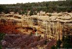 Cliff Palace, Dwellings, Cliff Dwellings, Cliff-hanging Architecture, CSOV01P11_03