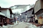 Building, small town, main street, downtown, Little Town, Americana, Vail, Ski Resort, Exterior, Outside, Outdoors, Snow, Cold, Ice, Cool, Icy, Winter, February 1972, 1970s, CSOV02P11_13