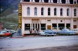 Grand Imperial Hotel, Cars, automobile, vehicles, Silverton, 1950's