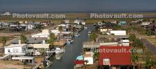 Houses on Stilts, buildings, Panorama, Harbor, CTXD01_041