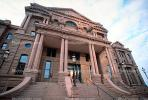 Tarrant County Courthouse, Red Building, Fort Worth, landmark